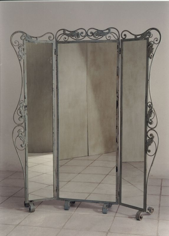 Three Way Floor Mirrors | Mirror,Vertical Mirror,Credenza Mirror,Pediment  Mirror