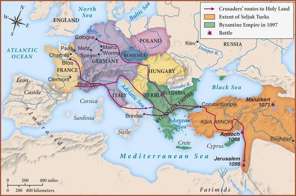 Third Crusade Map | the-third-crusade - The Third Crusade
