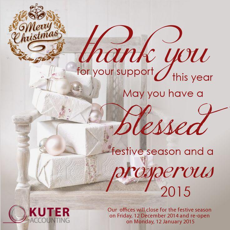 Christmas e-greeting card for Kuter Accounting (2014)