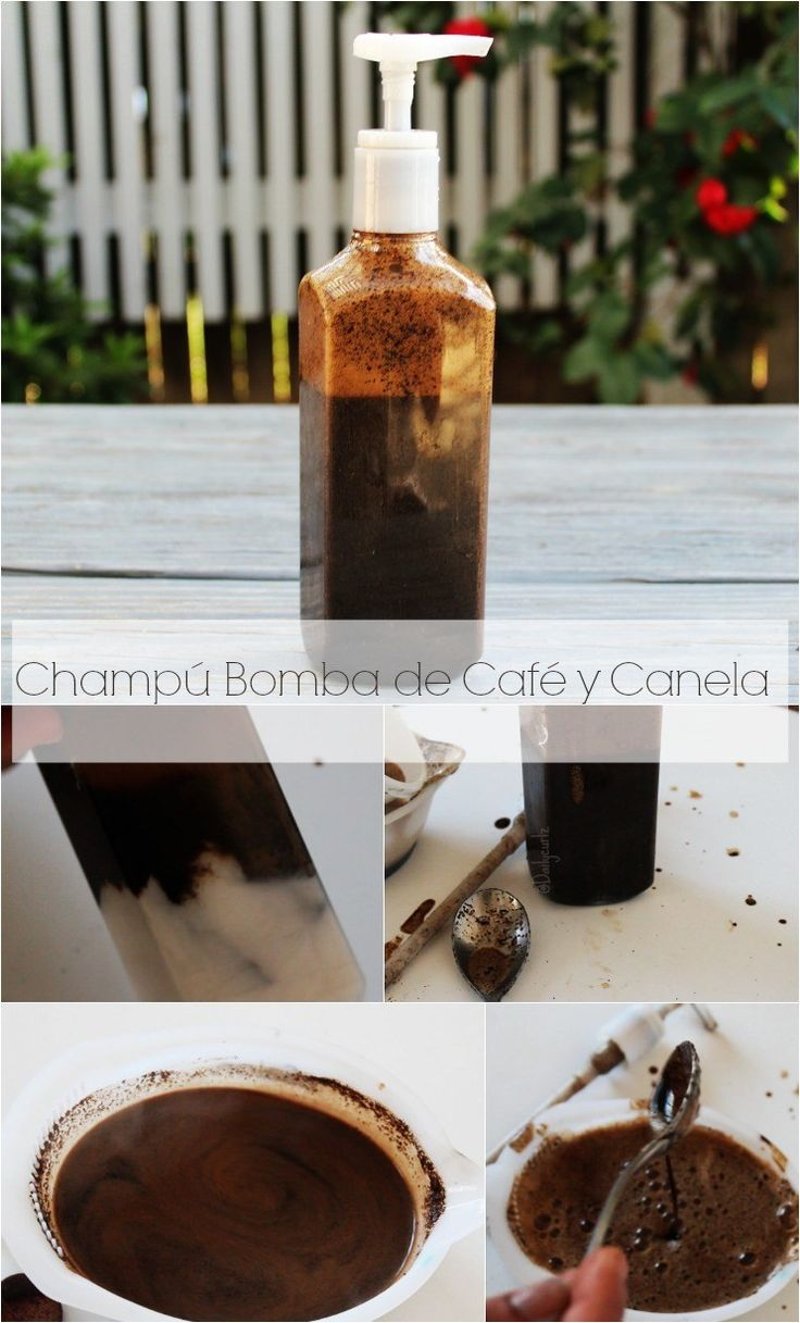 Empapar nuestro cabello en café tiene los mismos beneficios que tomarlo. Este champú bomba de café y canela para crecer el cabello te hará amar tu taza de..