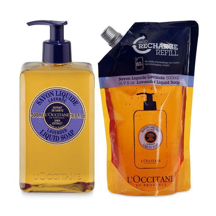 LOccitane Lavender Liquid Soap Eco Duo