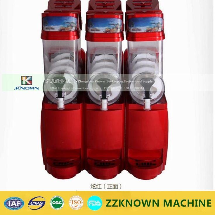 1281.00$  Buy now - http://alib6m.worldwells.pw/go.php?t=32697618149 - Free shipping 3 Tanks 3 Bowl Slush Machine commercial slush machine ice machine drink machines With CE Approved