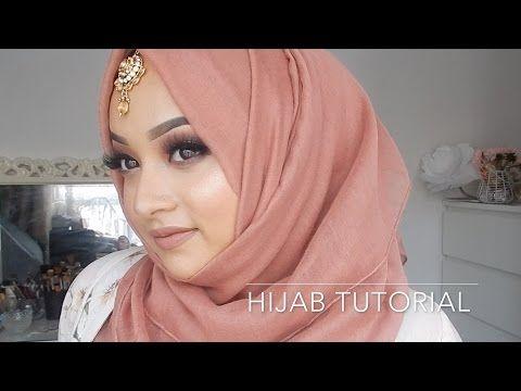 Easy Hijab Styles For Weddings and Eid   Hijab Tutorial   Hijabhills - YouTube