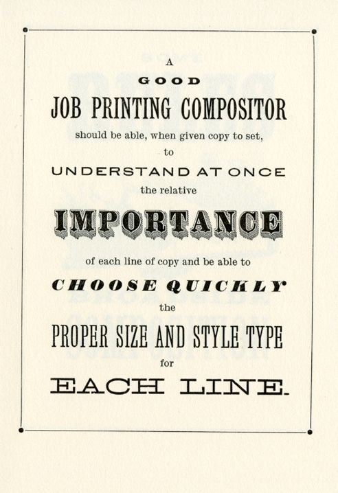 How To Typeset a Poster  Bowne & Co., Stationers at the South Street Seaport Museum in New York  letterpress keepsake