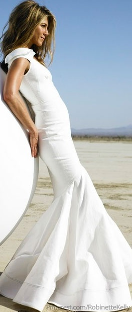 Jennifer Aniston.  Love the dress!   love the dress too, so very glam!!
