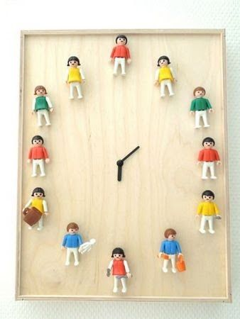 DIY Gifts for Kids -- Playmobil Clock - iVillage