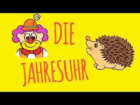 Rolf Zuckowski   Die Jahresuhr (Lyric Video) - YouTube