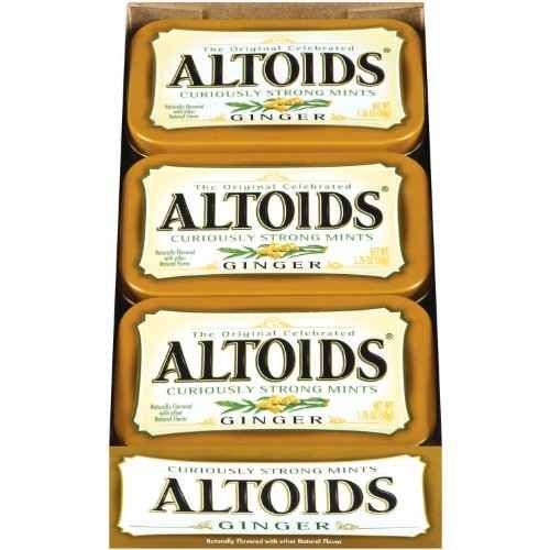 Invest in lots of ginger Altoids. | 19 Pregnancy Lifesavers That Will Help You Survive Your First Trimester