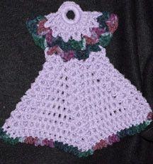 Crochet Pattern For A Doll : 39 best images about crochet potholder dresses on ...