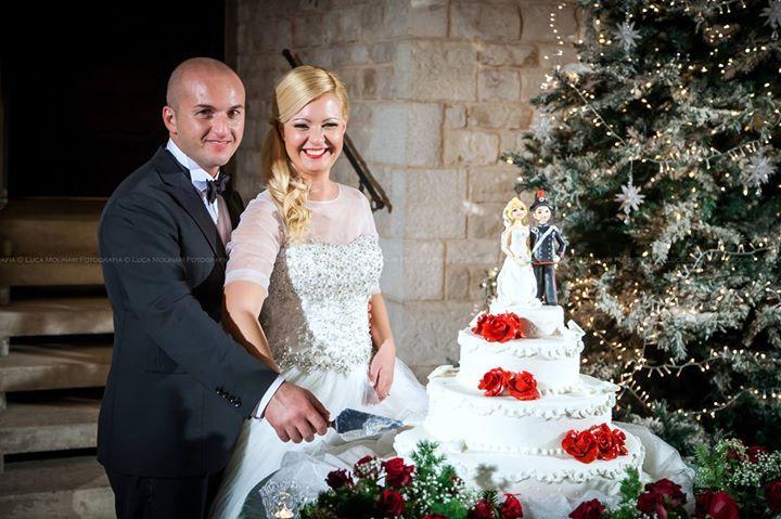 [Accadeva un anno fa]  E il primo anno è  già  passato...  Buon Primo Anniversario Enzo e Simona!!! #wedding