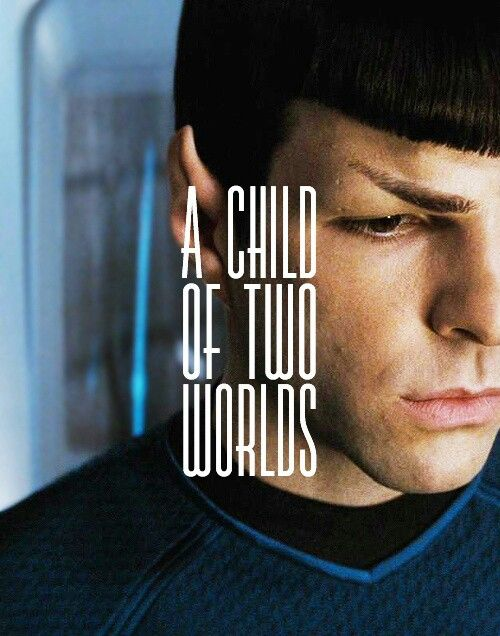 Spock in the reboot really digs into this conflict.  And he does it beautifully.