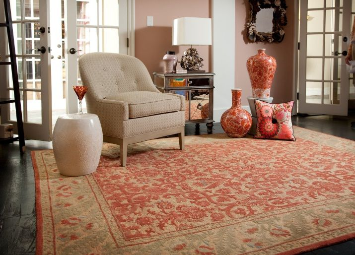 [Blog With Design Tips] Design Cheerful Interiors With Orange Rugs And Pink