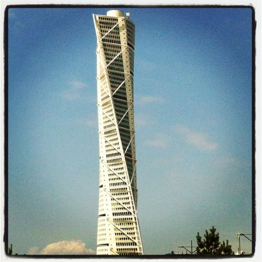 If you are travelling to Sweden, you must visit the Turning Torso in the Southern Swedish City of Malmö.
