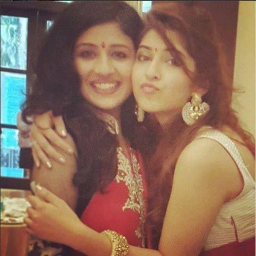 Sonarika Bhadoria With Paridhi Sharma