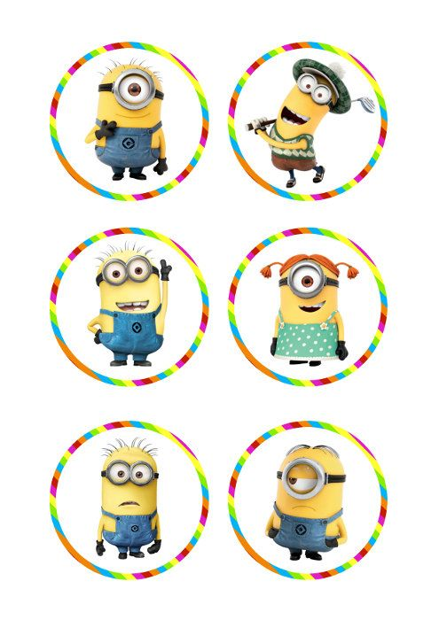 Despicable Me Minions Gru Printable Party 3 by CuteChicDesigns, £2.00