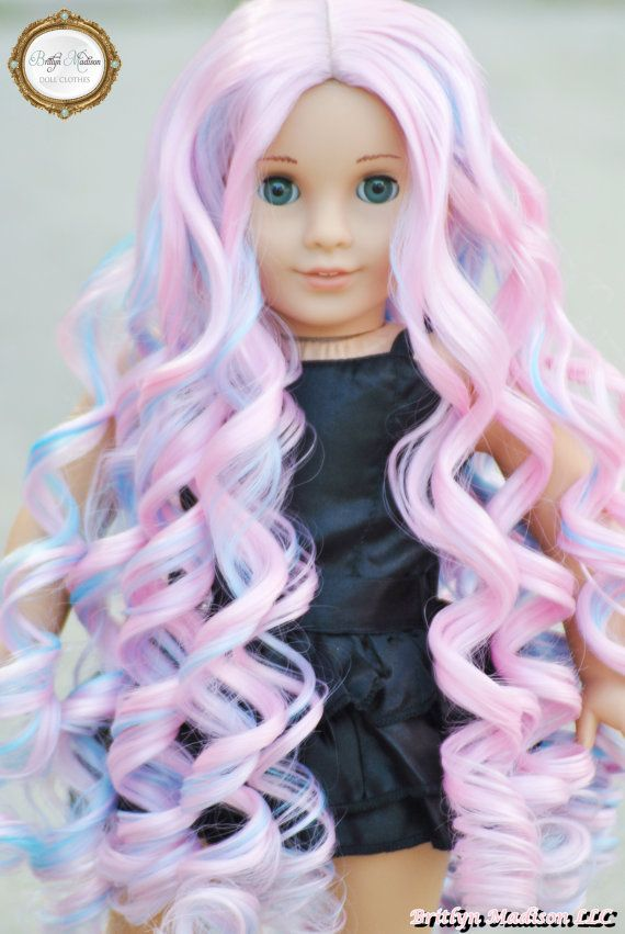 American Girl Doll Wig 24