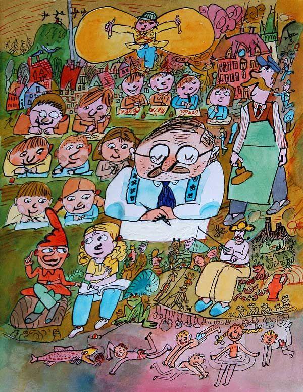 Ilustrace Miloslav Jágr