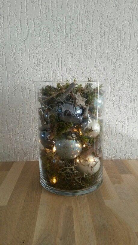 Kerstdecoratie voor op tafel♡