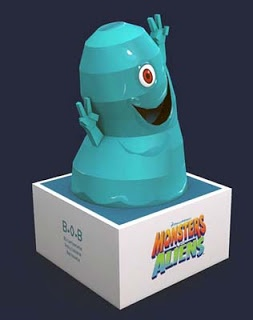 Monsters vs. Aliens Papercraft - BOB