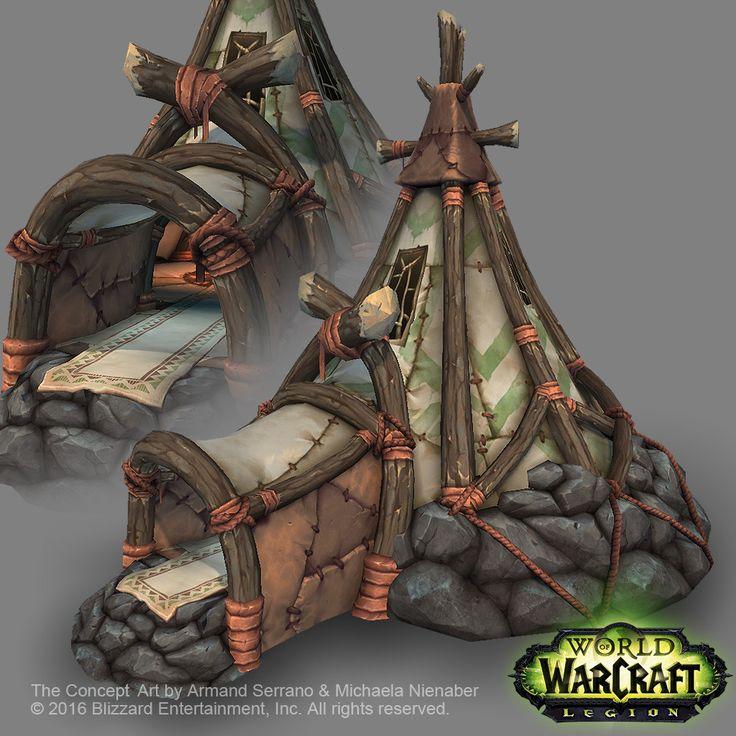 ArtStation - Tauren building in World of Warcraft : Legion , Peter Kyuyoung Lee