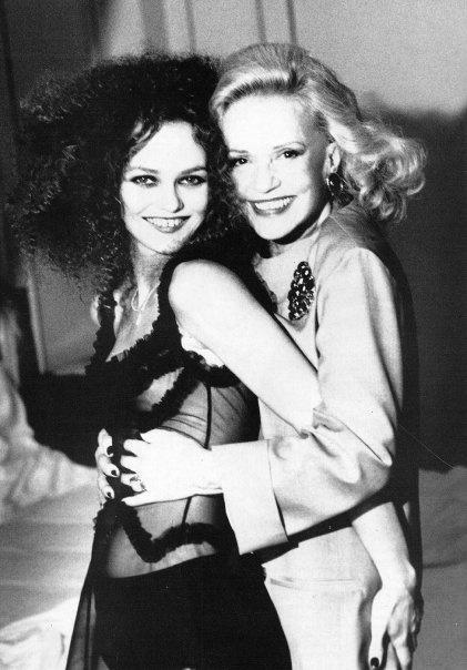 Vanessa Paradis and Jeanne Moreau by Ellen von Unwerth