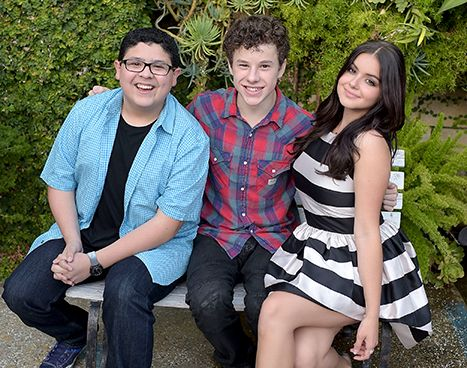 Rico Rodriguez, Nolan Gould and Ariel Winter