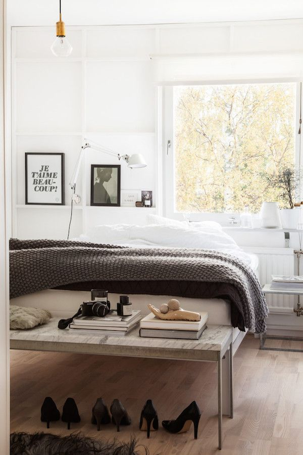 Lovely pics from the former home of Swedish stylist Pella Hedeby. Photo: Sofie Sykfont.: