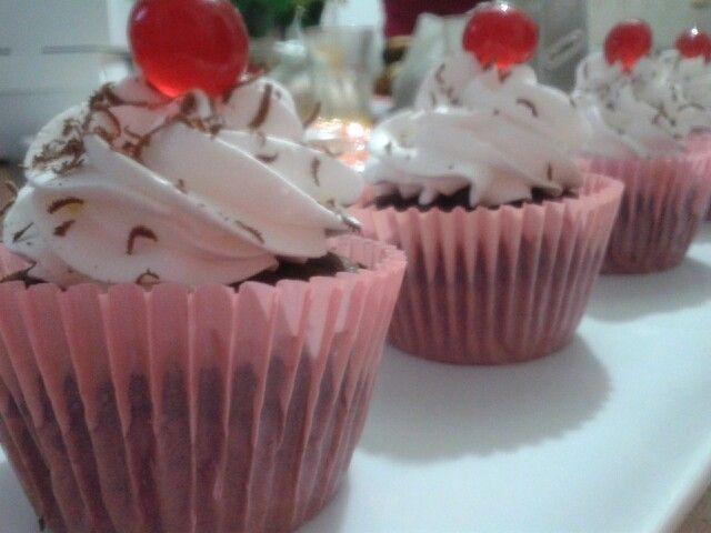 "Cupcakes ""Selva Negra"""