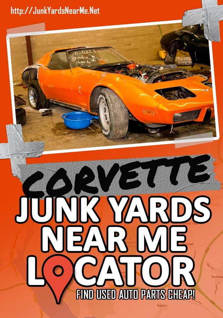 Corvette Salvage Yards Near Me Corvette Yard Salvage