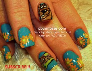700 best nails 7 images on pinterest autumn nails nail art by robin moses the grateful dead nail art scooby prinsesfo Gallery