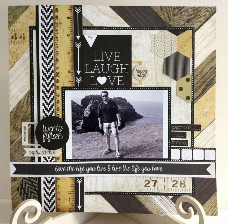The Craftz Boutique: Hello Today Layouts (Kaiser Craft)