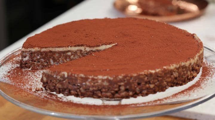 Paul A. Young's Bourbon chocolate crispy cake recipe