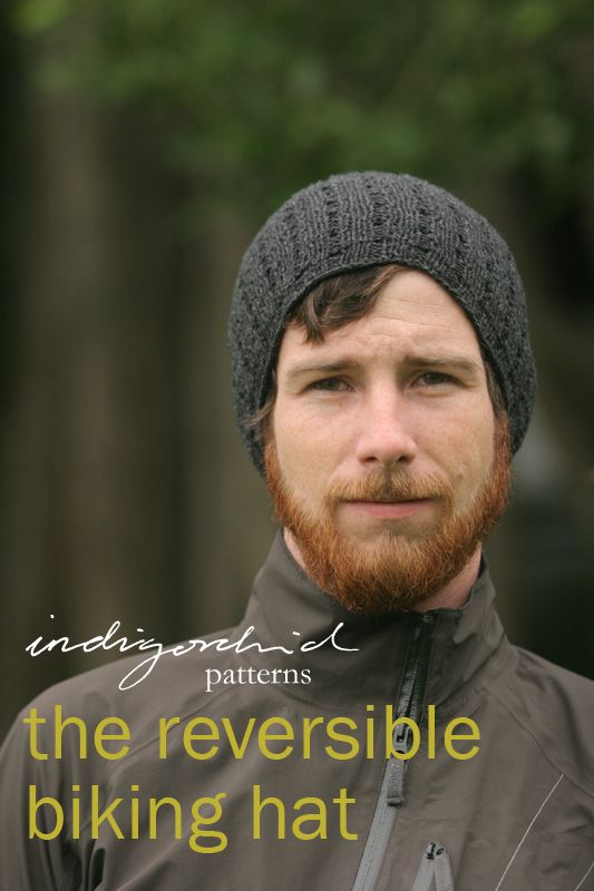 reversible biking hat- sport weight