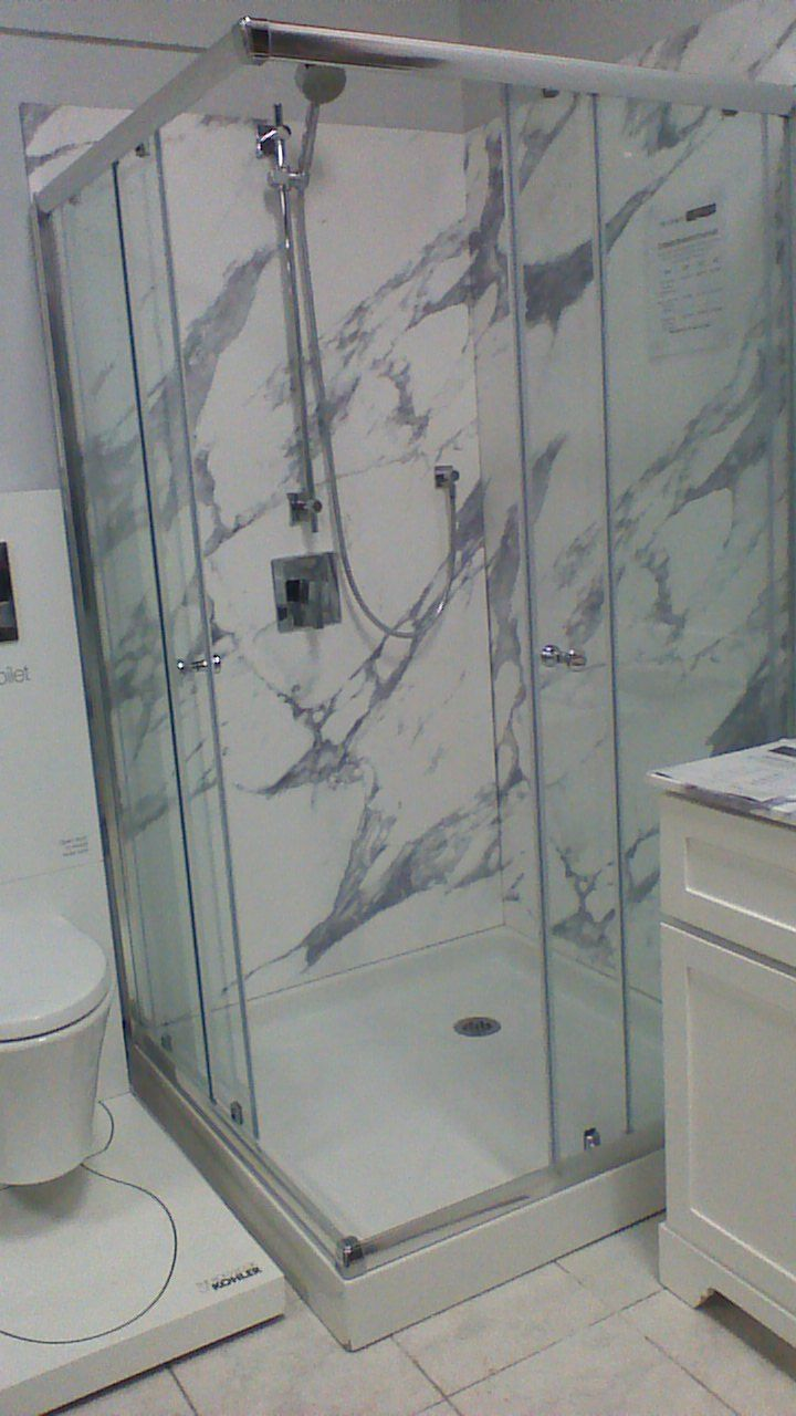Cultured marble wall panels made by infinity marble