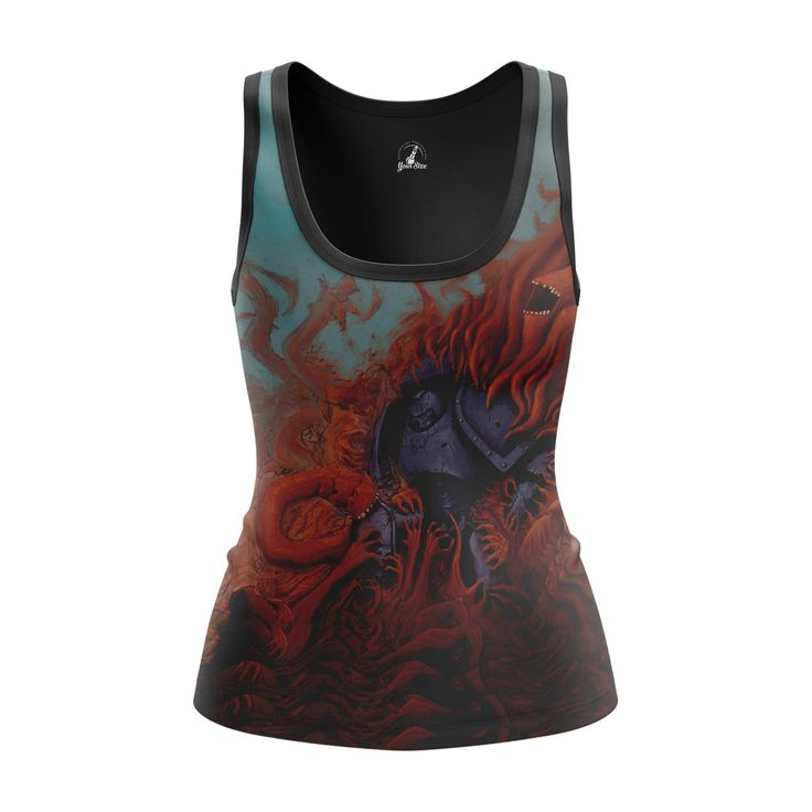 cool Girls Tank Warp Warhammer Gaming Merchandise