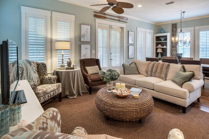Best Blue And Brown Coastal Living Room Lovely Living Rooms Pinterest Window Treatments 400 x 300