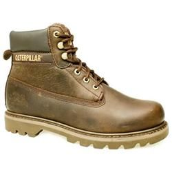 Caterpillar Male Colorado Waxy Leather Upper Casual Boots in Dark Brown CATERPILLAR Colorado The Caterpillar Colorado is probably the ultimate in rugged work boot styles. With a full grain leather upper or nubuck, this casual boot also has a nylon mesh lining and an oil a http://www.comparestoreprices.co.uk/mens-shoes/caterpillar-male-colorado-waxy-leather-upper-casual-boots-in-dark-brown.asp