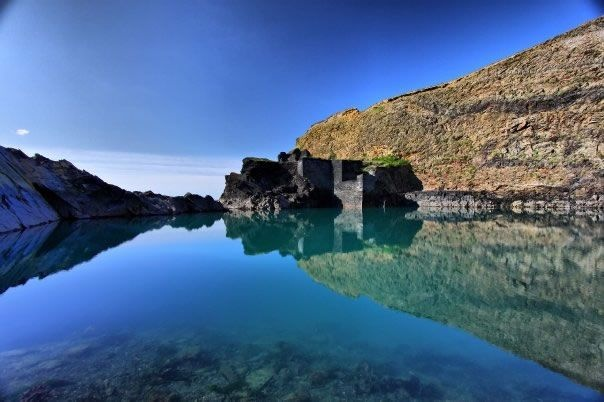 The Blue Lagoon, Pembrokeshire. Stunning and peaceful!