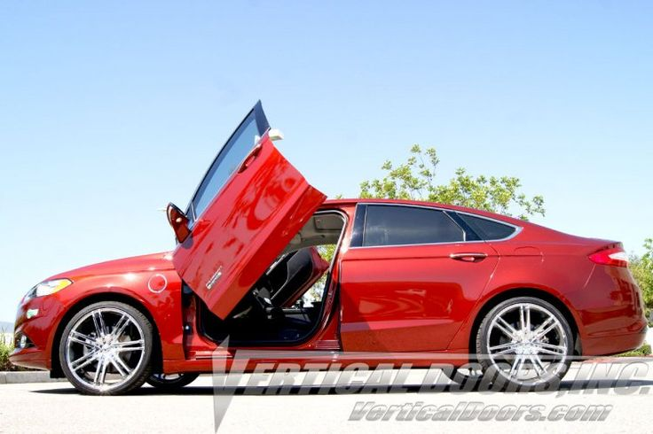 Shop Lambo doors kit for your Ford Fusion and have a truly exotic appearance with our stylish Lambo doors Kit.  Order now, Visit at http://verticaldoors.com/ford-fusion-20132016-vertical-lambo-doors.html  For sales and installation, Call us at 951.245.8669  #ford #fusion #cars #sportscars #lambodoors #autoaccessories #stylish #strongest #sales #installation #shoponline #bestprice #verticaldoors #verticaldoorsinc