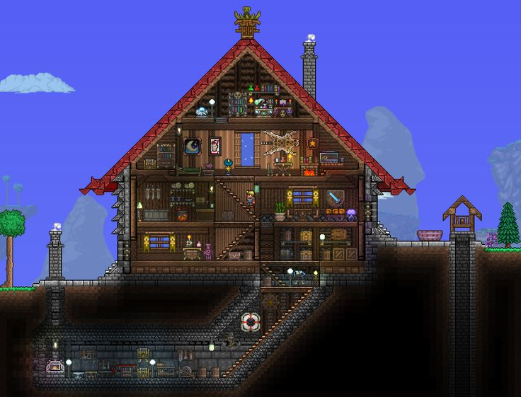 Terraria House Houses Galleries And Terrarium