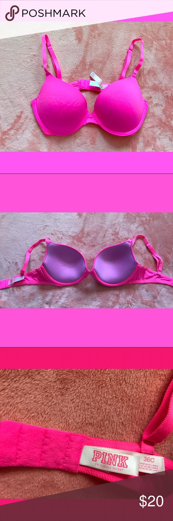 < Victoria Secret PINK bra > Great condition bra! Wear everywhere push up!  PINK Victoria's Secret Intimates & Sleepwear Bras