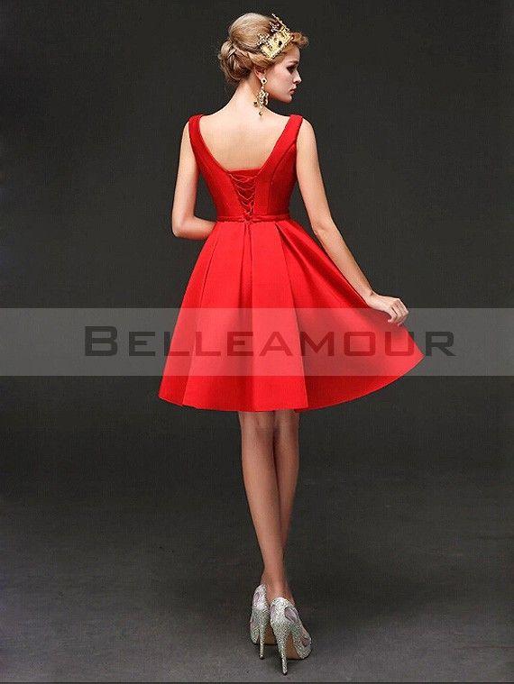Rever d'une belle robe rouge
