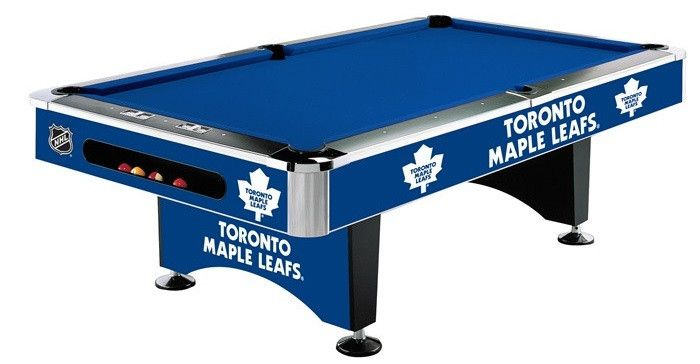 Use this Exclusive coupon code: PINFIVE to receive an additional 5% off the Toronto Maple Leafs 8' Pool Table at SportsFansPlus.com