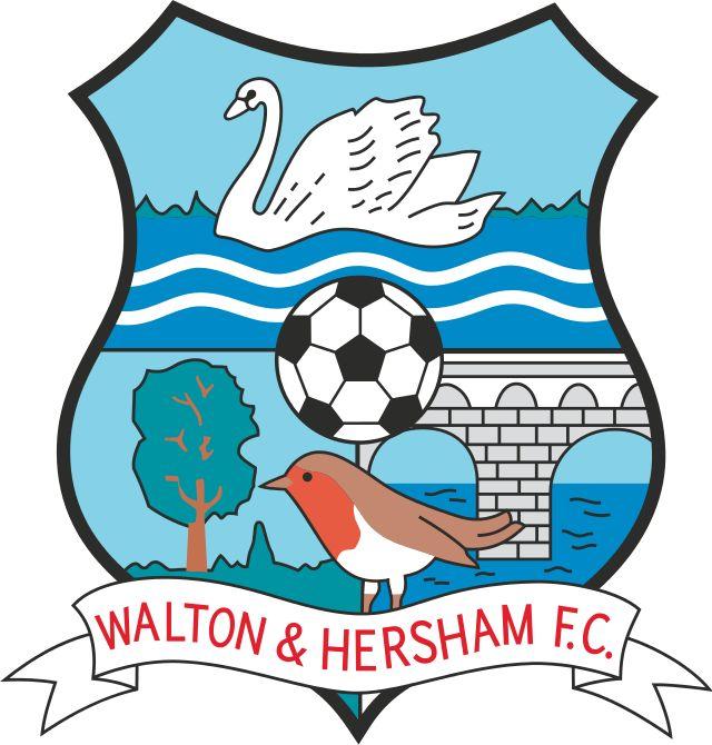 Walton & Hersham FC of Surrey, England crest.