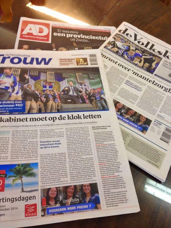 Van Hulley frontpage. www.vanhulley.nl