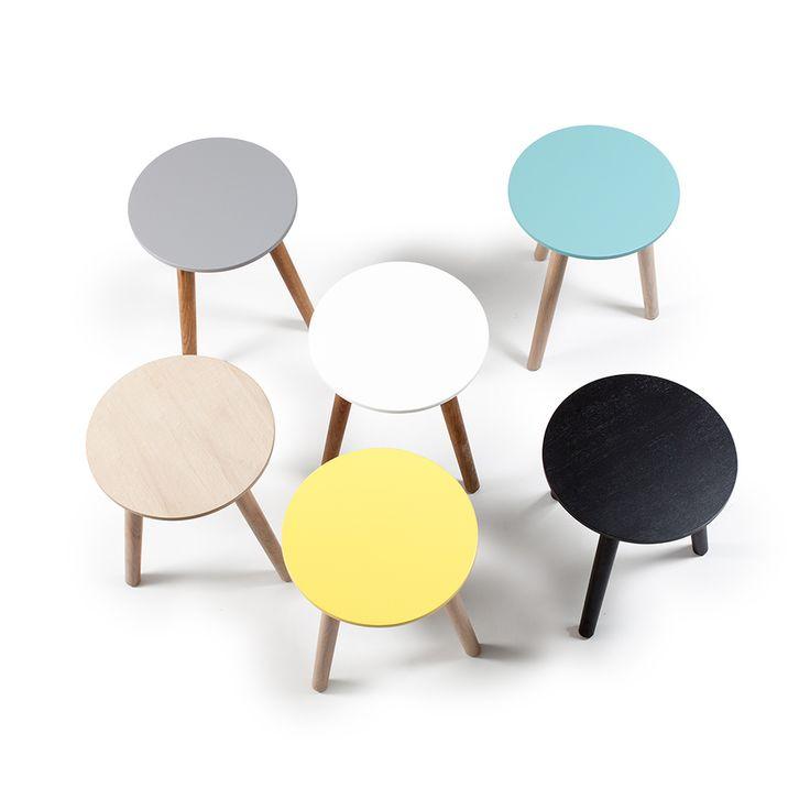 Ray Sidobord 50 cm, Mintgrön/Ek - Department - Department - RoyalDesign.se #pall #table #furniture #department #royaldesign #design #interior #interiordesign