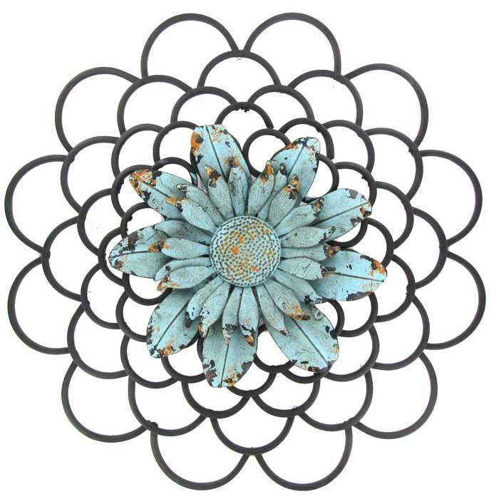 Metal Flower Wall Art 432 best metal wall art images on pinterest | metal walls, metal