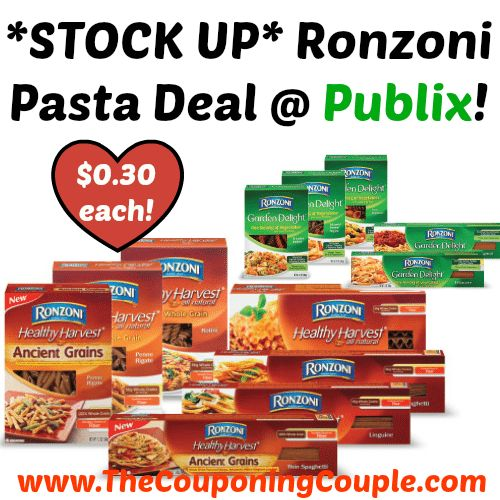 AWESOME DEAL!! *STOCK UP* Ronzoni Pasta Deal @ Publix!  Click the link below to get all of the details ► http://www.thecouponingcouple.com/stock-up-ronzoni-pasta-deal-publix/ #Coupons #Couponing #CouponCommunity  Visit us at http://www.thecouponingcouple.com for more great posts!