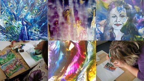 Príďte si vyžehliť čarovné obrázky a dobrú náladu na tvorivý workshop ENKAUSTIKA – maľovanie voskami. V stredu 24.5. (18:00 - 20:00) do príjemných priestorov galérie ZIV, na Trenčiansku 53 v Bratislave. Je to výborný relax, hra s farbami, zábava pre každého, podnecuje fantáziu a rozvíja tvorivosť. Vedie certifikovaná lektorka pre enkaustiku Ing. Monika Balogová, ktorá vás naučí základné ťahy so žehličkou a ukáže hlavné enkaustické techniky maľovania farebnými voskami na papier. www.ziv.sk