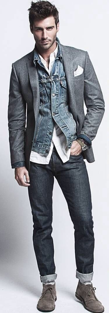 17 Best ideas about Jean Vest Men on Pinterest | Little boys ...